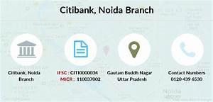 Citibank Noida Ifsc Code Citi0000034