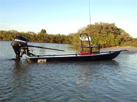 Canoe Flats Boat by Scoggins Pelican Flats Boats 13 Ft Ambush