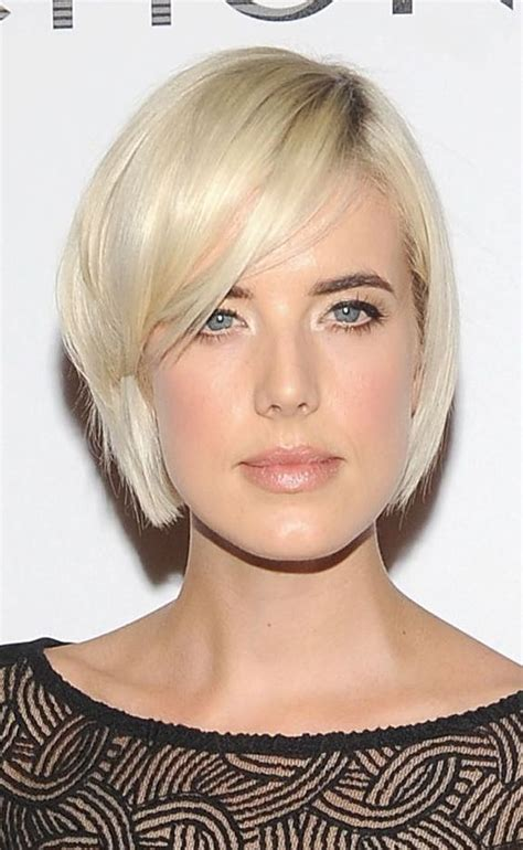 oval face short hairstyle 13 Short Hairstyles 2018