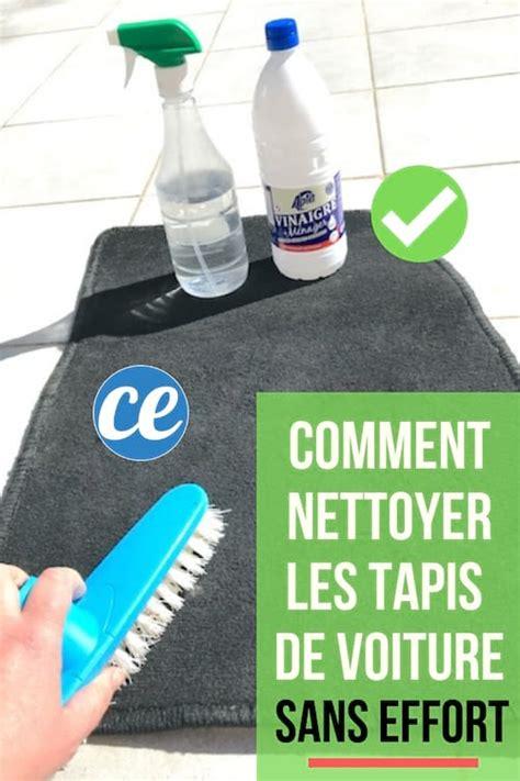 comment nettoyer les tapis de voiture sans effort