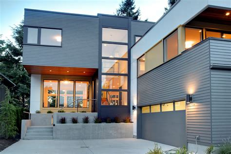 Modern House Siding Exterior Contemporary With Cable