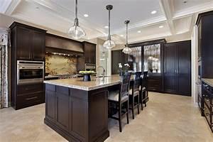 Fresh coat of paint light vs dark kitchens for Dark cabinet kitchen designs