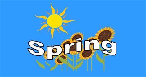 spring lesson esl resource