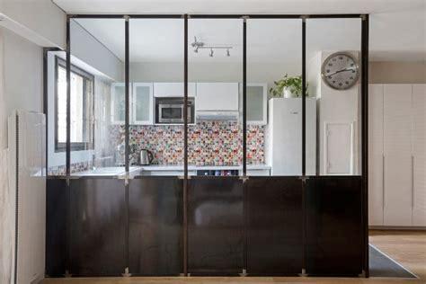 carrelage cuisine noir brillant verrière atelier d 39 artiste quelle couleur peinture et