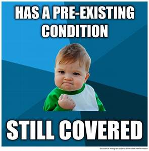 Preexisting Condition Coverage; Preexisting Condition