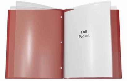 Pocket Folder Nicky Sleeves Folders Plastic Multi