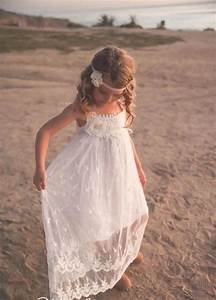 21 Airy And Beautiful Boho Flower Girl Dresses Weddingomania