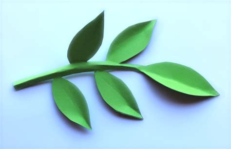paper leaf template paper flowers classroom craft activity easy make paper flowers leaves
