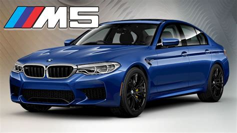 M5 Colors by 2018 Bmw M5 All Color Options Interior And Exterior