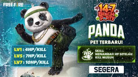 garena hadirkan pet panda   fire esportsku