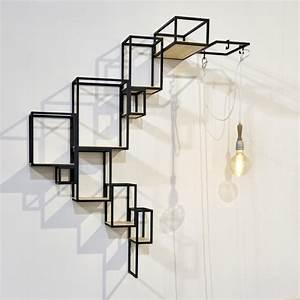 étagères Murales Design : etag re murale serax zendart design ~ Teatrodelosmanantiales.com Idées de Décoration