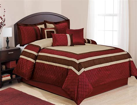 fall bedding collections  piece mya red bed