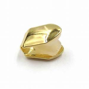 Single Gold Plated Tooth Hip Hop Unisex Solid Grillz Grill ...