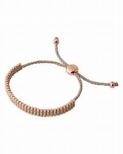 Links of london Mini Friendship Bracelet in Brown (Taupe ...