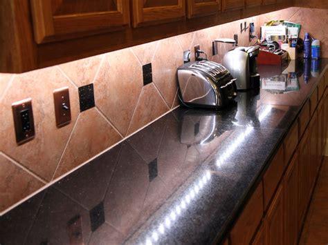 led undercounter kitchen lights build led counter lighting that rocks 6947