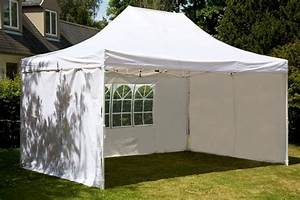 Tonnelle 4 X 3 : tente pliante 3x4 5 m tonnelle blanc en polyester 260g m ~ Edinachiropracticcenter.com Idées de Décoration