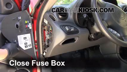1999 Grand Am Fuse Box Location by Interior Fuse Box Location 1999 2005 Pontiac Grand Am