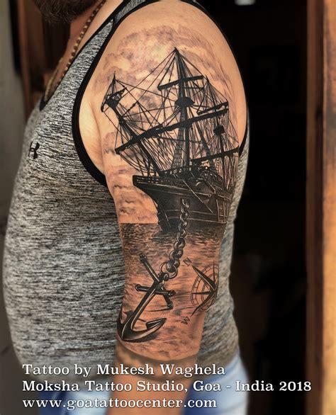 travelling tattoo   mukesh waghela  moksha tattoo studio goa