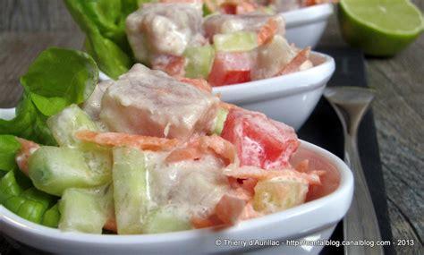 utilisation du lait de coco en cuisine salade tahitienne ou poisson cru au lait de coco un