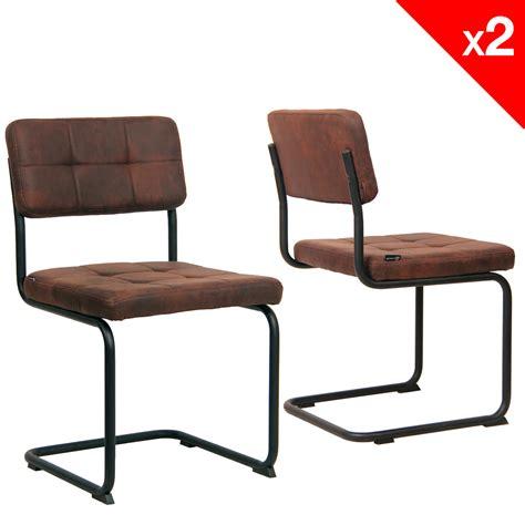 chaises retro chaise vintage matelassée lot de 2 safi kayelles com