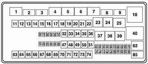 Ford E-150  2009 - 2015  - Fuse Box Diagram