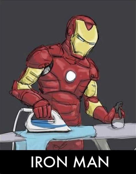Iron Man Meme - iron man funny parody ironing