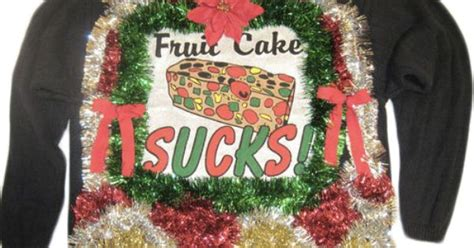 fruit cake sucks ugly sweater ideas pinterest posts