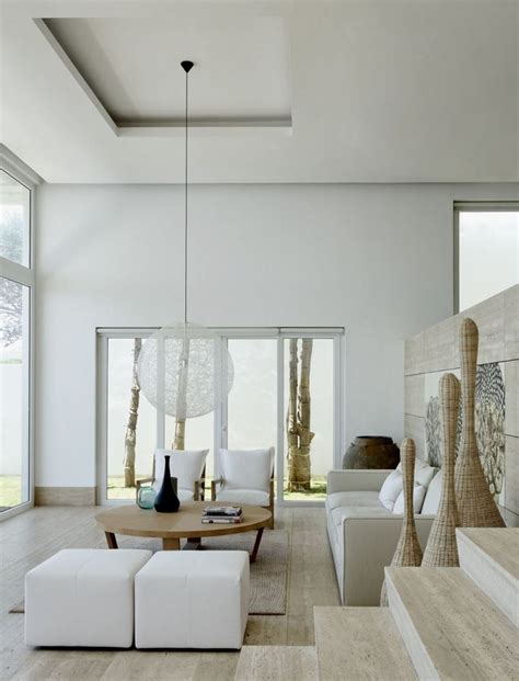 coastal living rooms simple and modern coastal house with sea view by chut Modern