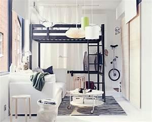 Ikea Stora Hochbett : cadre de lit mezzanine stora d 39 ikea 10 lits gain de place journal des femmes ~ Orissabook.com Haus und Dekorationen