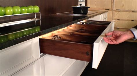 rutt handcrafted cabinetry led interior kitchen drawer lighting youtube