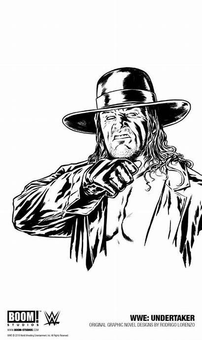 Undertaker Wwe Novel Graphic Drawing Superstar Superstars