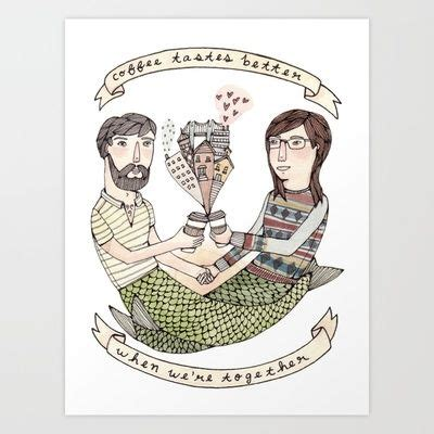 If your coffee tastes sour or your coffee tastes burnt, this may be your problem. Coffee Tastes Better Art Print by Brooke Weeber - $17.68   Coffee tastes better, Illustration ...
