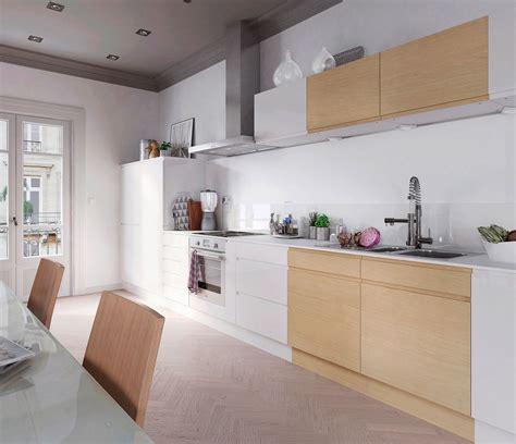 cuisine en bois cuisine chene massif moderne