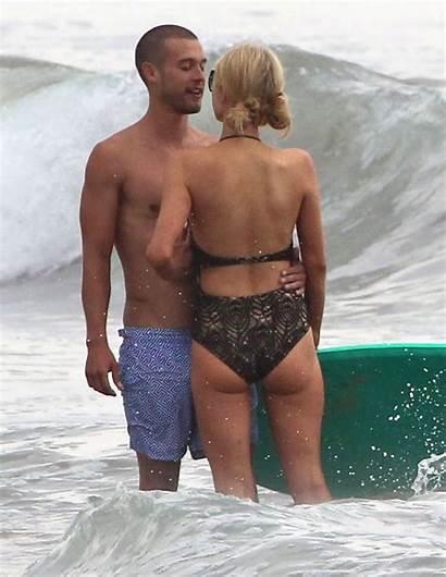 Hilton Paris Swimsuit Boyfriend Bikini Beach Malibu