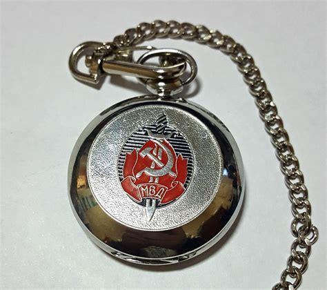 KGB Molnija Pocket Watch   Russian Legacy