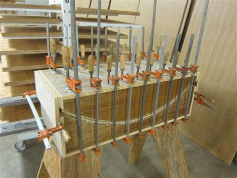 bent plywood veneer press bent wood woodworking jigs