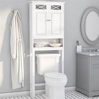 "over the toilet storage cabinet Darby Home Co Coddington 25"" W x 68"" H Over The Toilet Storage & Reviews 