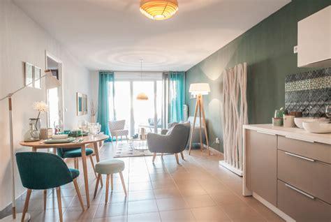 decoration appartement temoin  scandinave salle de