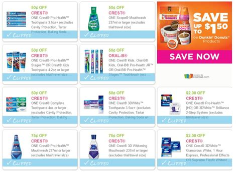 14932 Printable Coupons Crest Toothpaste by 10 New Printable Crest Coupons Domestic Divas Coupons