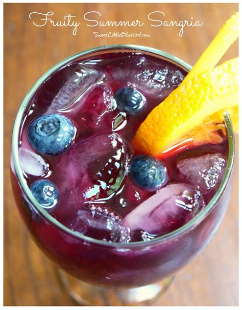 fruity sangria fruity summer sangria sweet little bluebird