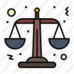 Justice Icon Icons Premium Lineal