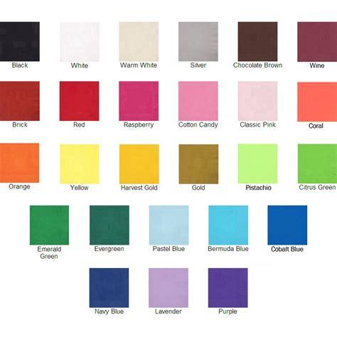 anniversary colors custom printed 60th wedding anniversary luncheon napkins