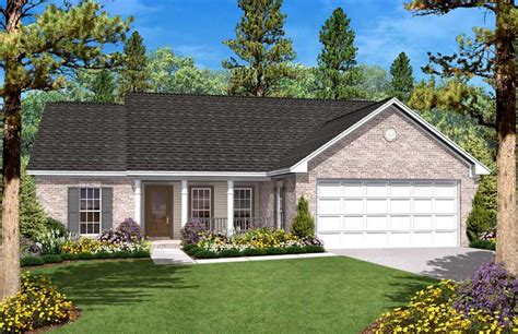country house plan  bedrms  baths  sq ft