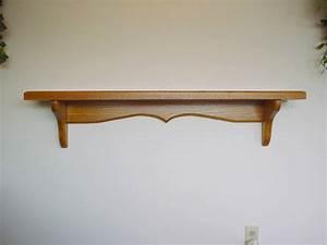 Wooden Wall Mounted Shelves. Gallery Of Wood Wall Shelf ...
