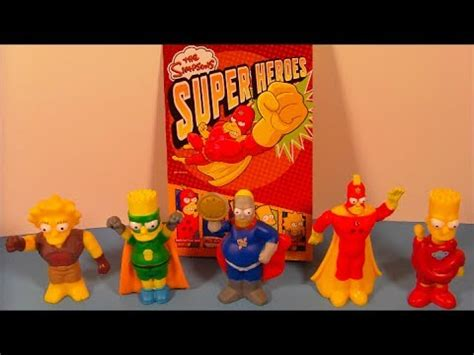 simpsons super heroes european set   burger