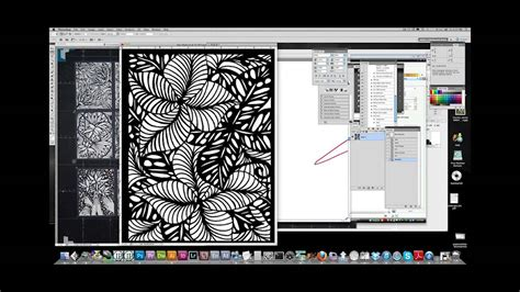 creating laser cutting files with live trace youtube