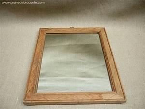 Miroir Ancien Le Bon Coin : miroir cadre bois ancien ~ Teatrodelosmanantiales.com Idées de Décoration
