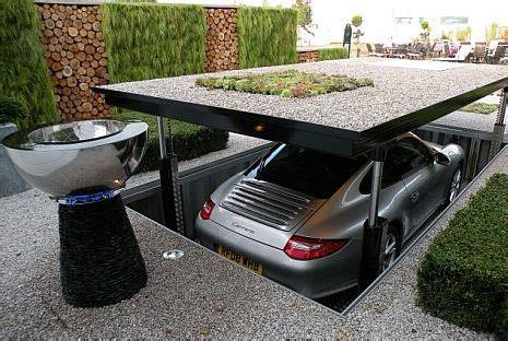 pop up garage pop up garage stows your car safely underground we interrupt