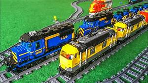 Extension of the Lego® train display! - YouTube