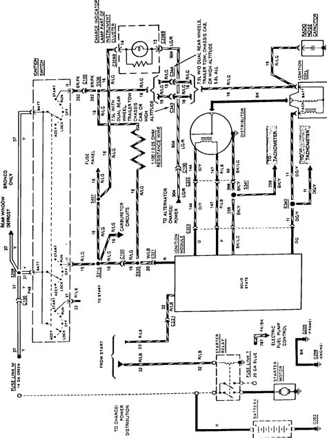 Color Wire Routing From Starter Relay Ignition Switch